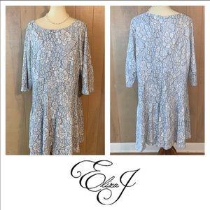 Eliza J Floral Sheath Dress. Size 18W